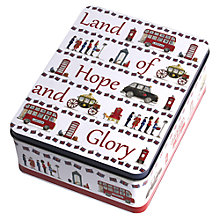 Buy Milly Green Land of Hope and Glory Tin of Biscuits, 400g Online at johnlewis.com