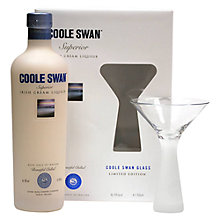 Buy Coole Swan Superior Irish Cream Liqueur & Glass Set, 70cl Online at johnlewis.com
