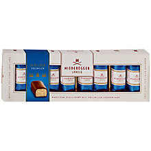 Buy Niederegger Marzipan Milk Chocolate Mini Loaves, 100g Online at johnlewis.com