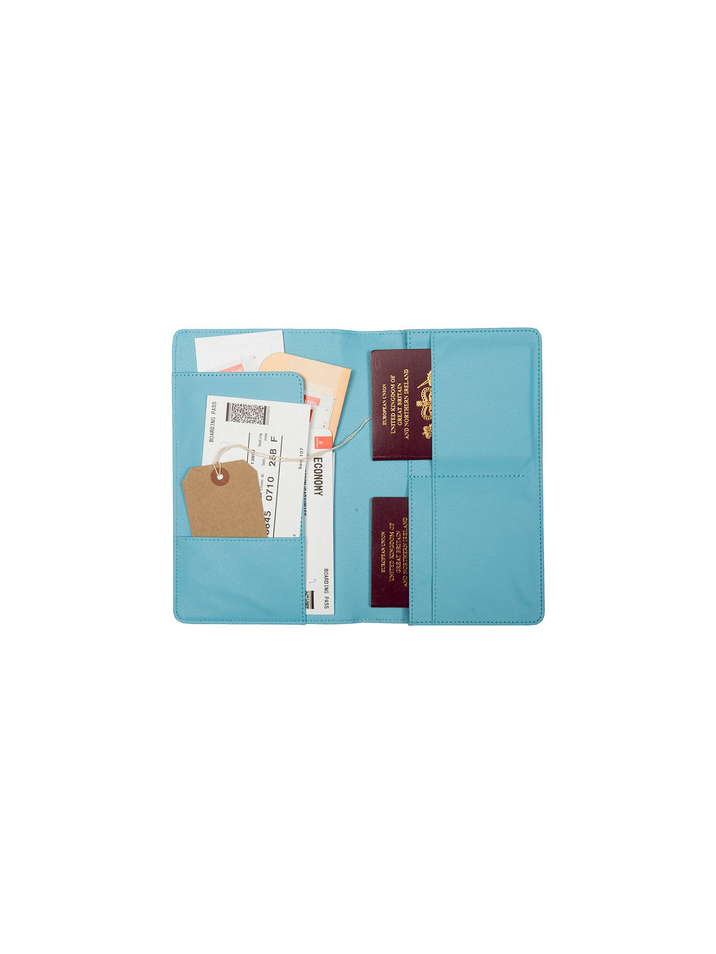 1ea93c925dfe Busy B Family Travel Wallet Blue at John Lewis & Partners