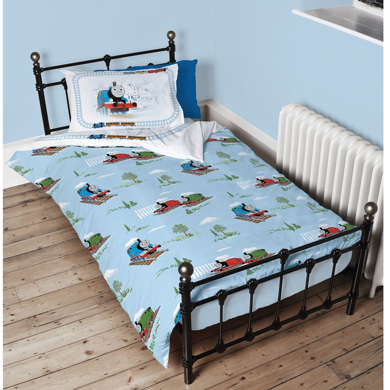 Thomas & Friends Cotton Duvet Cover and Pillowcase Set, Single