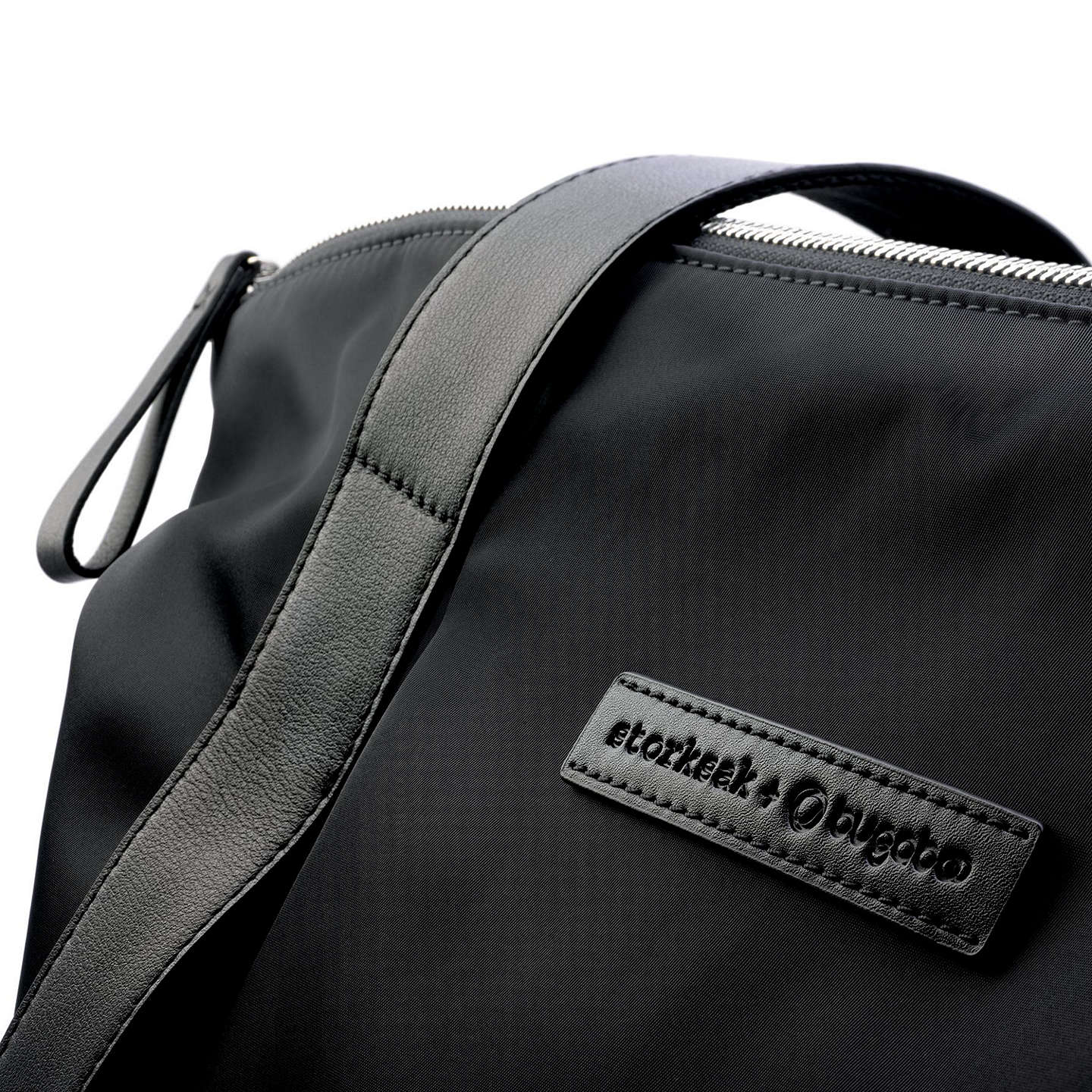 BuyBugaboo Storksak Nylon Changing Bag, Black Online at johnlewis.com