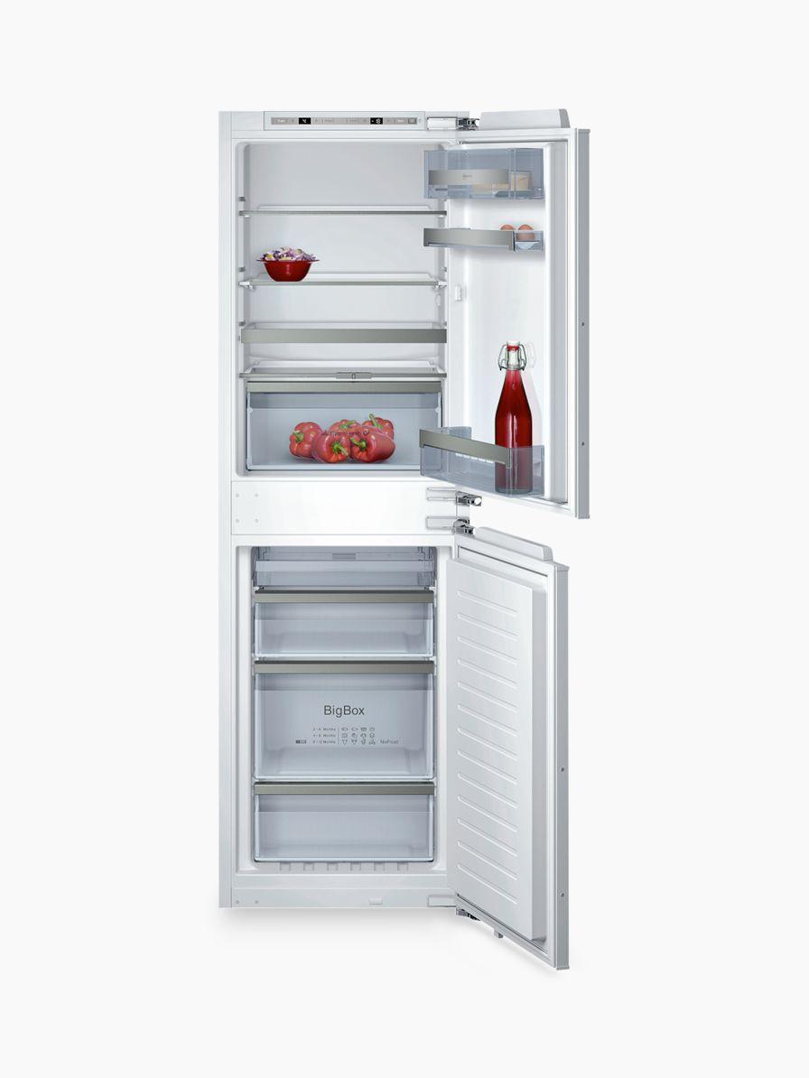 NEFF Neff KI7853D30G Integrated Fridge Freezer, A++ Energy Rating, 56cm Wide