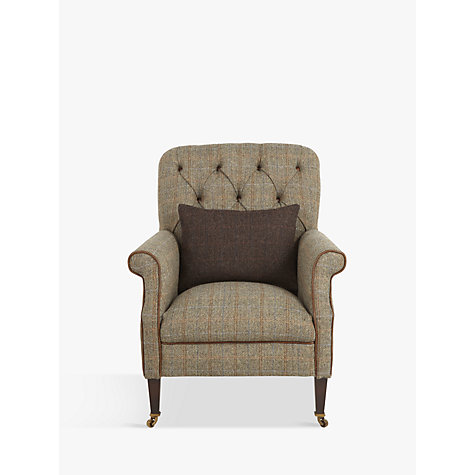 Buy Tetrad Harris Tweed Flynn Armchair Bracken Bromton