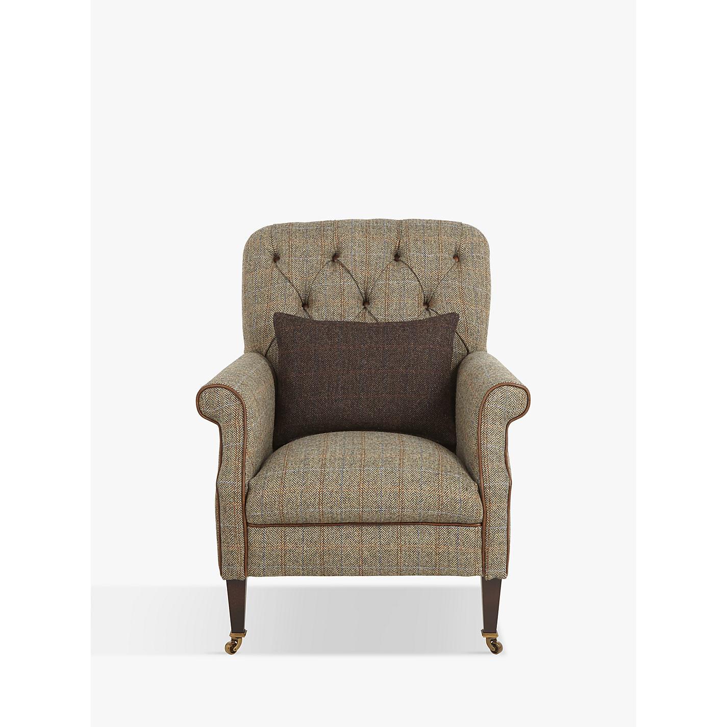 Beautiful ... Buy Tetrad Harris Tweed Flynn Armchair, Bracken / Bromton Tan Online At  Johnlewis.com ...