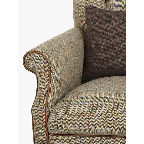 Buy Tetrad Harris Tweed Flynn Armchair Bracken Bromton
