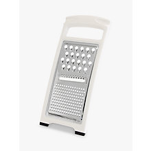 Buy John Lewis The Basics Stainless Steel Flat Grater Online at johnlewis.com
