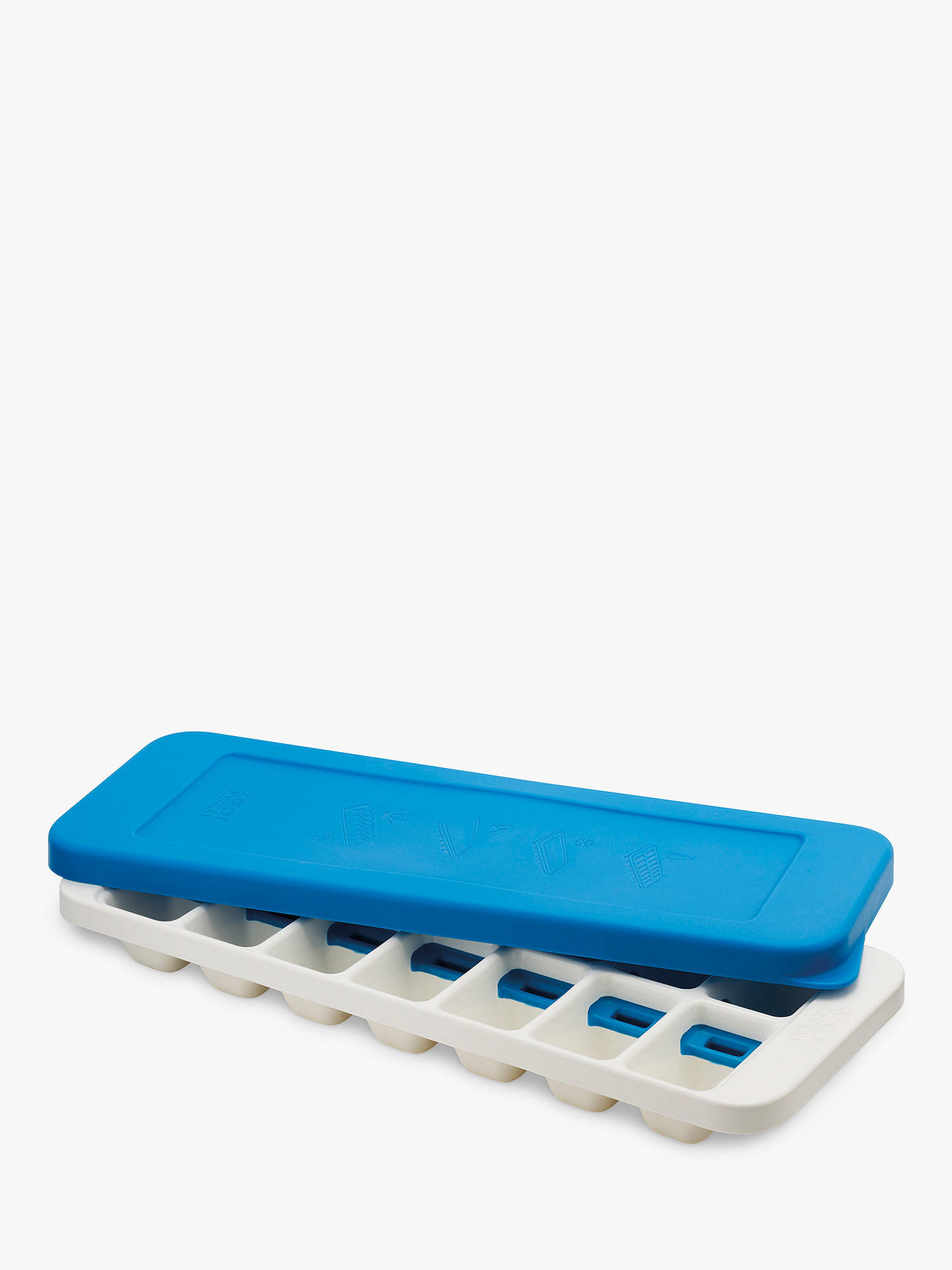 BuyJoseph Joseph Quicksnap Plus Ice Cube Tray, Blue Online at johnlewis.com