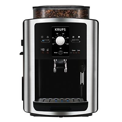 KRUPS EA801040 Espresseria BeantoCup Coffee Machine Stainless Steel