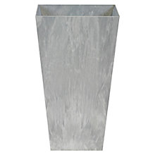 Buy Artstone Ella Pot, Grey, 49cm Online at johnlewis.com