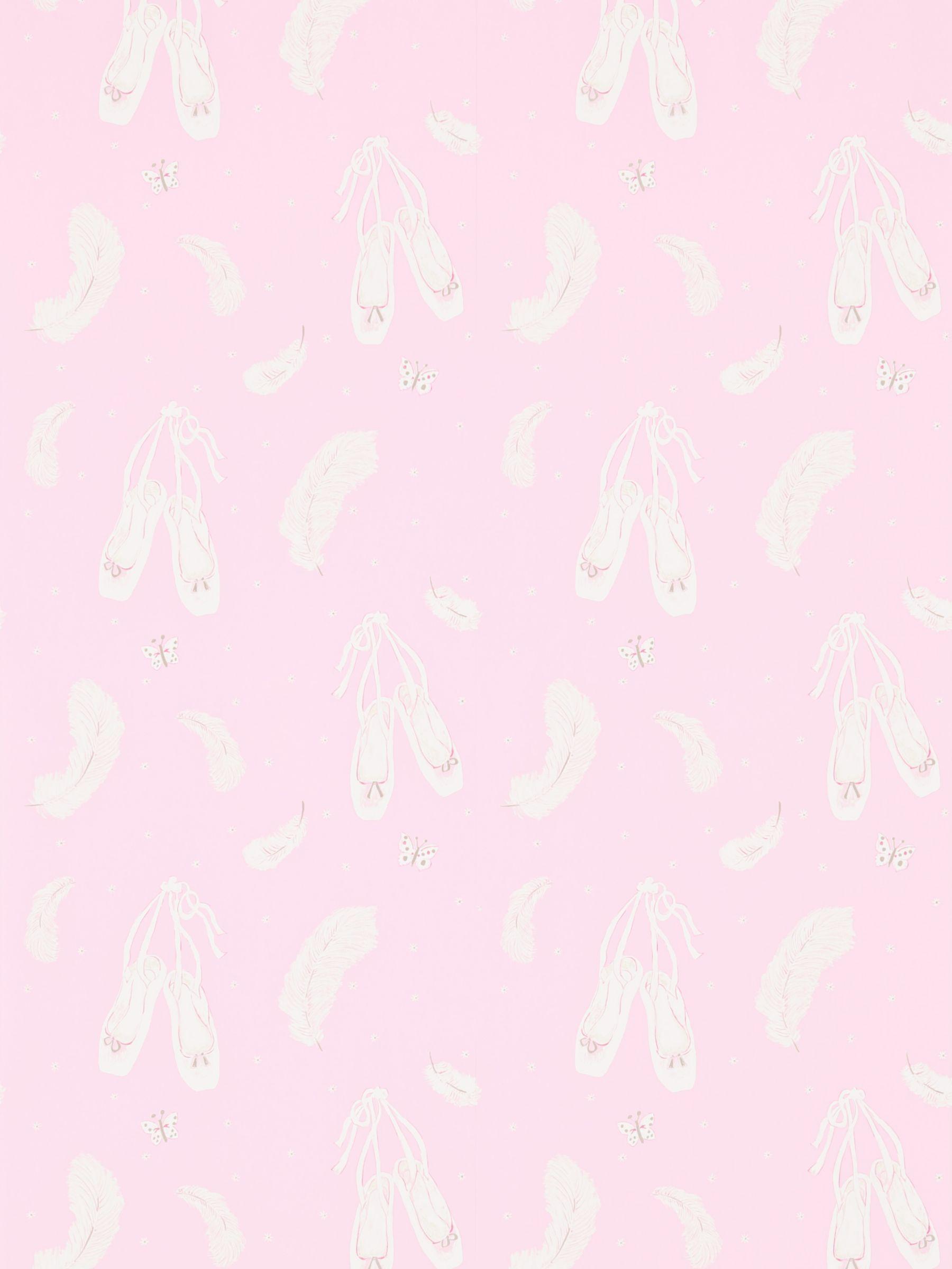 Sanderson Sanderson Ballet Shoes Wallpaper