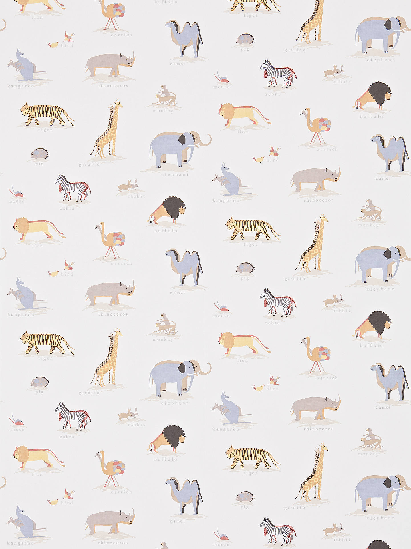 Buy Sanderson Two by Two Wallpaper, Neutral,	DLIT214042 Online at johnlewis.com