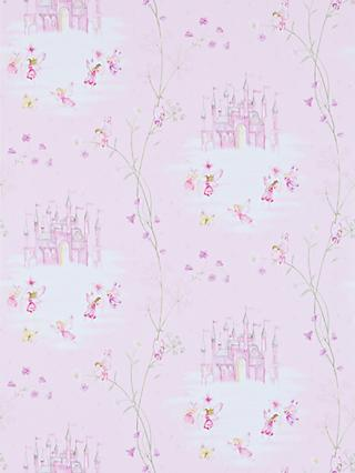 Sanderson Fairy Castle Wallpaper