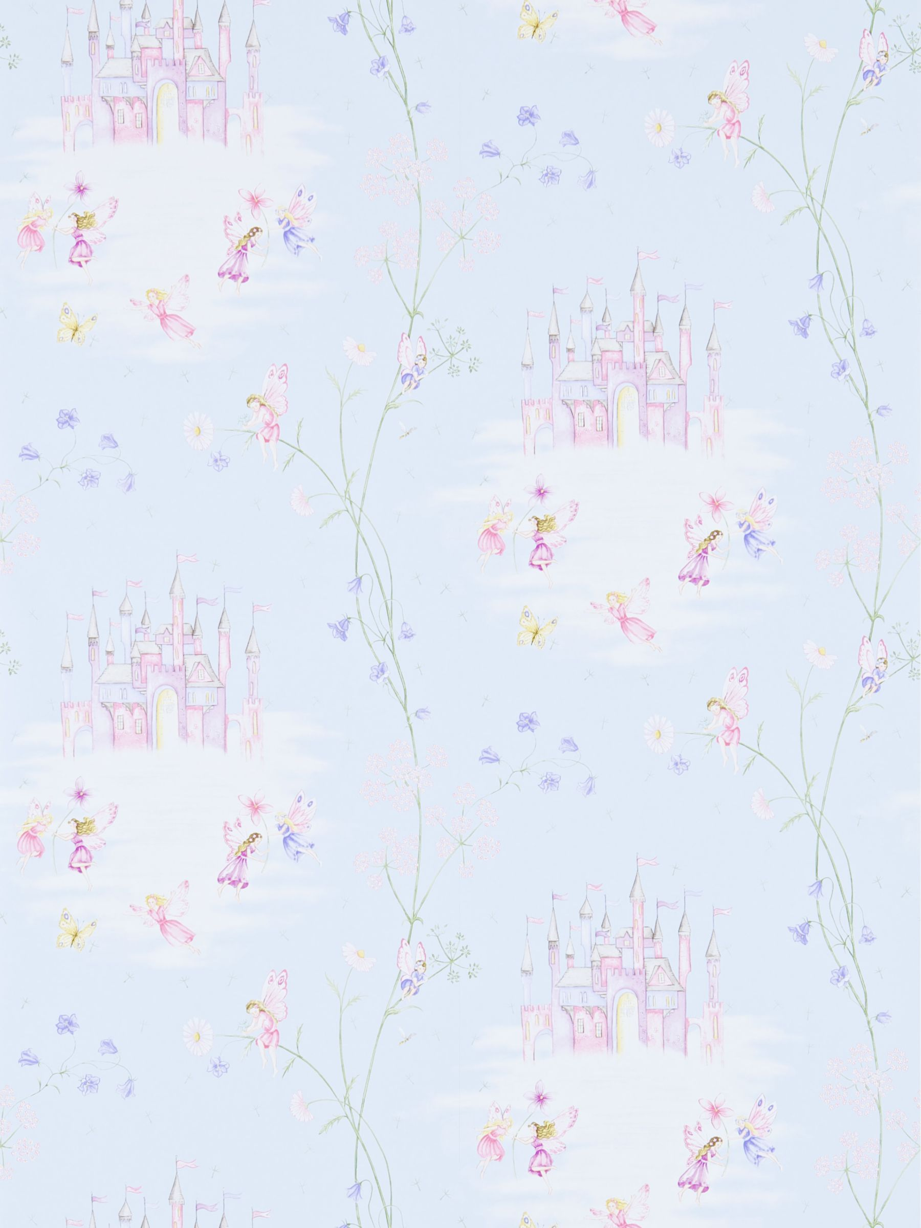 Sanderson Sanderson Fairy Castle Wallpaper