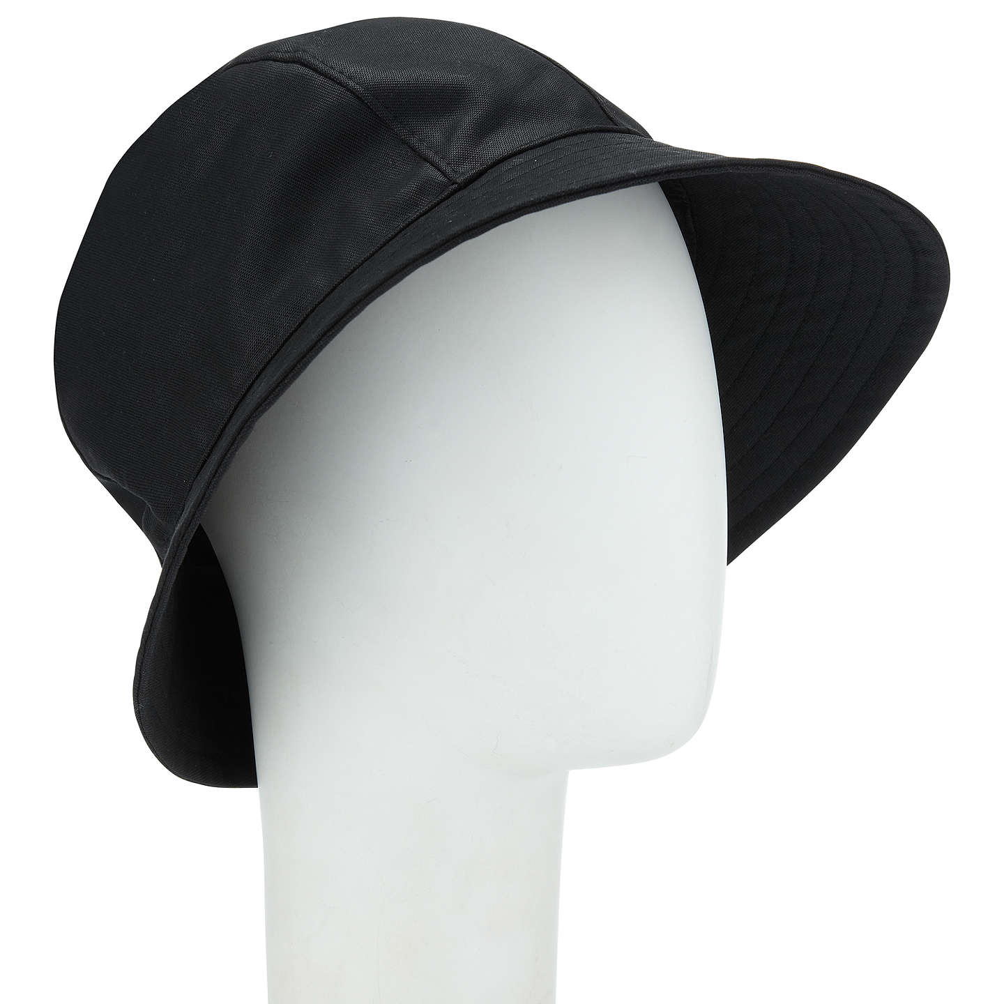 BuyJohn Lewis Waxed Trench Hat, Black Online at johnlewis.com