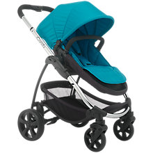 Buy iCandy Strawberry 2 Pushchair with Chrome Chassis, Carrycot & Pacific Flavour Pack Online at johnlewis.com