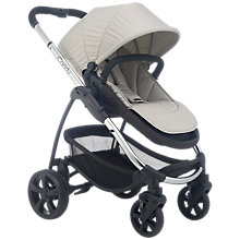 Buy iCandy Strawberry 2 Pushchair with Chrome Chassis, Carrycot & Dune Hood Online at johnlewis.com