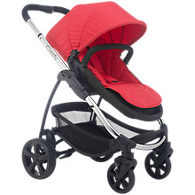 Buy iCandy Strawberry 2 Pushchair with Chrome Chassis, Carrycot & Lush Hood Online at johnlewis.com