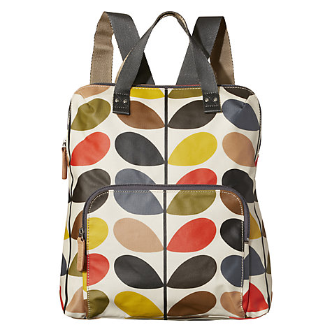 Buy Orla Kiely Etc Classic Multi Stem Print Backpack, Multi Online at johnlewis.com