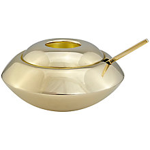 Buy Tom Dixon Form Sugar Dish and Spoon, Brass Online at johnlewis.com