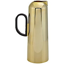 Buy Tom Dixon Form Jug, Brass Online at johnlewis.com