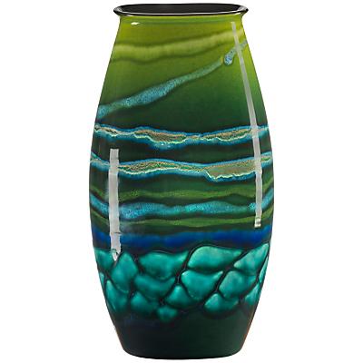 Poole Pottery Maya Manhattan Vase, H36cm