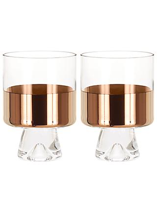 Tom Dixon Tank Lowball Glasses, Set of 2