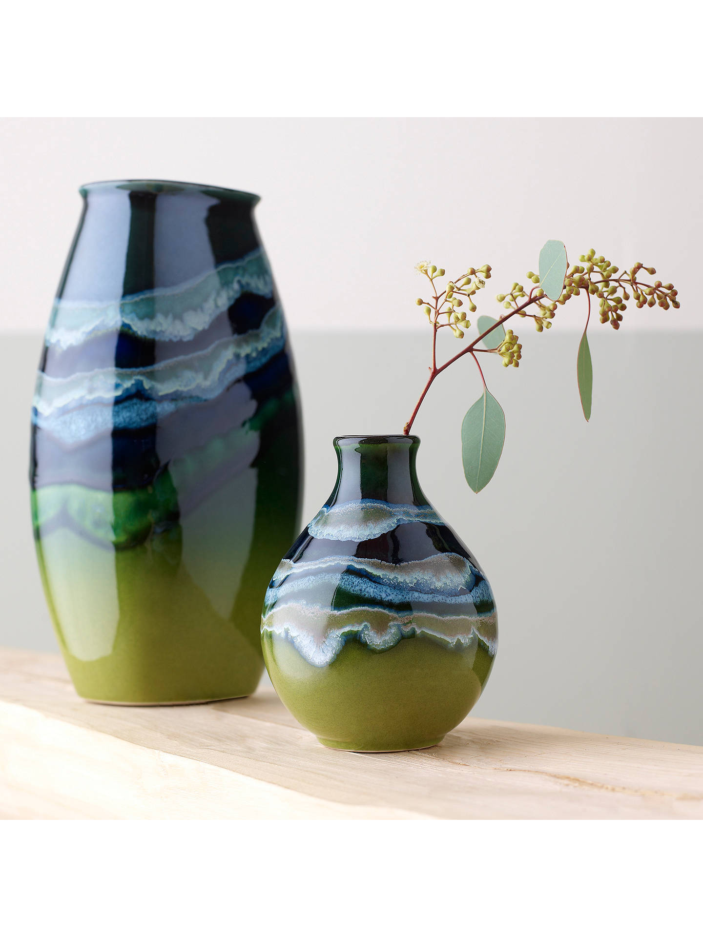 BuyPoole Pottery Maya Manhattan Vase, H26cm Online at johnlewis.com