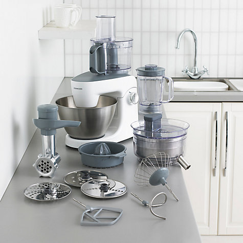 Buy kenwood khh326wh multione stand mixer john lewis for Impastatrice lidl