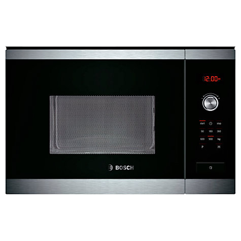 Buy Bosch Hmt84m654b Built In Compact Microwave Oven