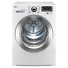 Buy LG RC7066A2Z Sensor Condenser Tumble Dryer, 7kg Load, B Energy Rating, White Online at johnlewis.com