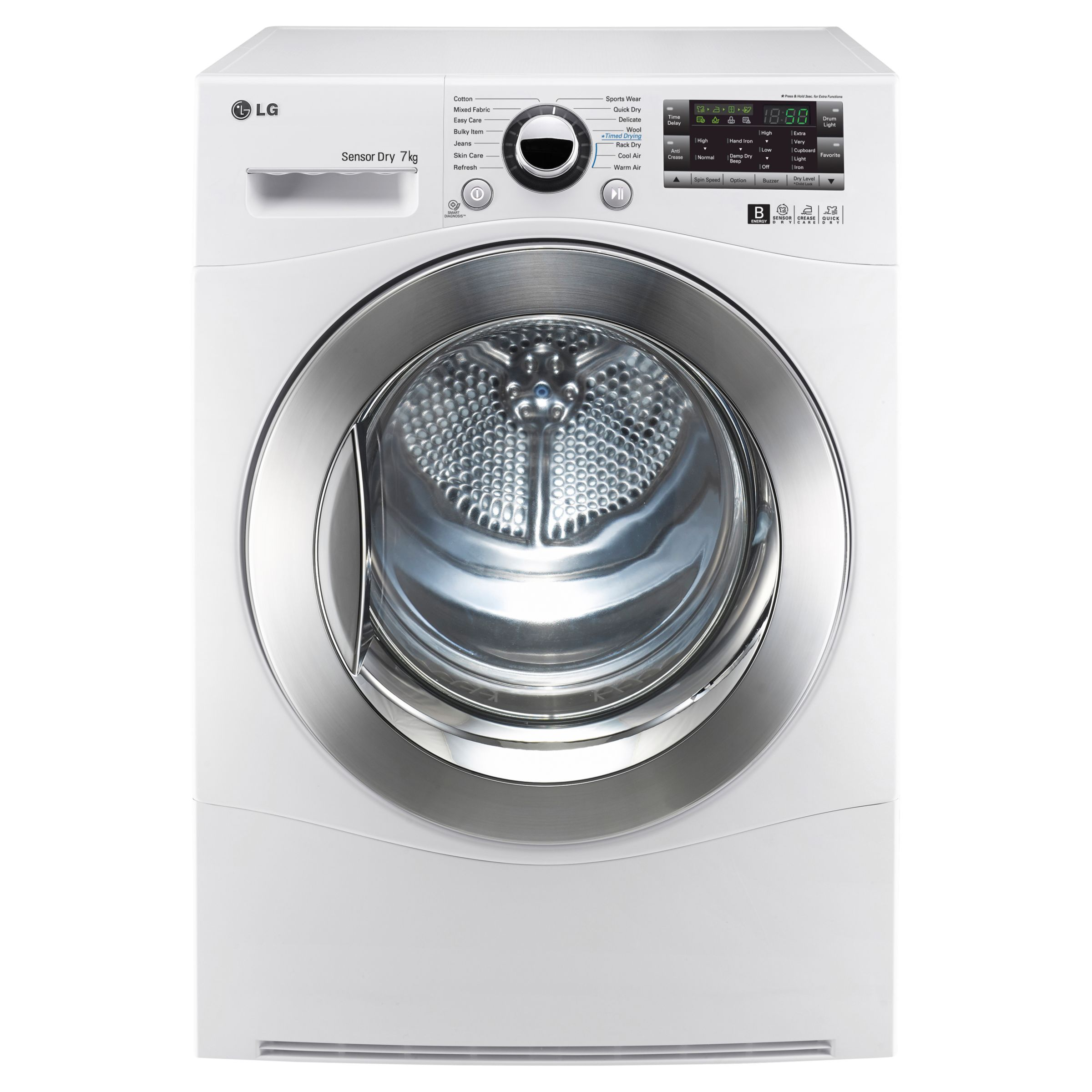 Lg Sensor Dryer ~ Lg rc a z sensor condenser tumble dryer kg