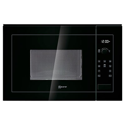 Image of Neff H11WE60S0G Built-In Microwave Oven, Black