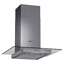 Buy Neff D86ER22N0B Chimney Cooker Hood, Stainless Steel Online at johnlewis.com