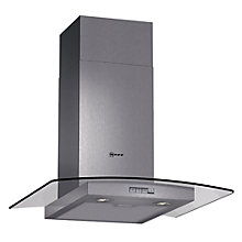 Buy Neff D86GR22N0B Chimney Cooker Hood, Stainless Steel Online at johnlewis.com