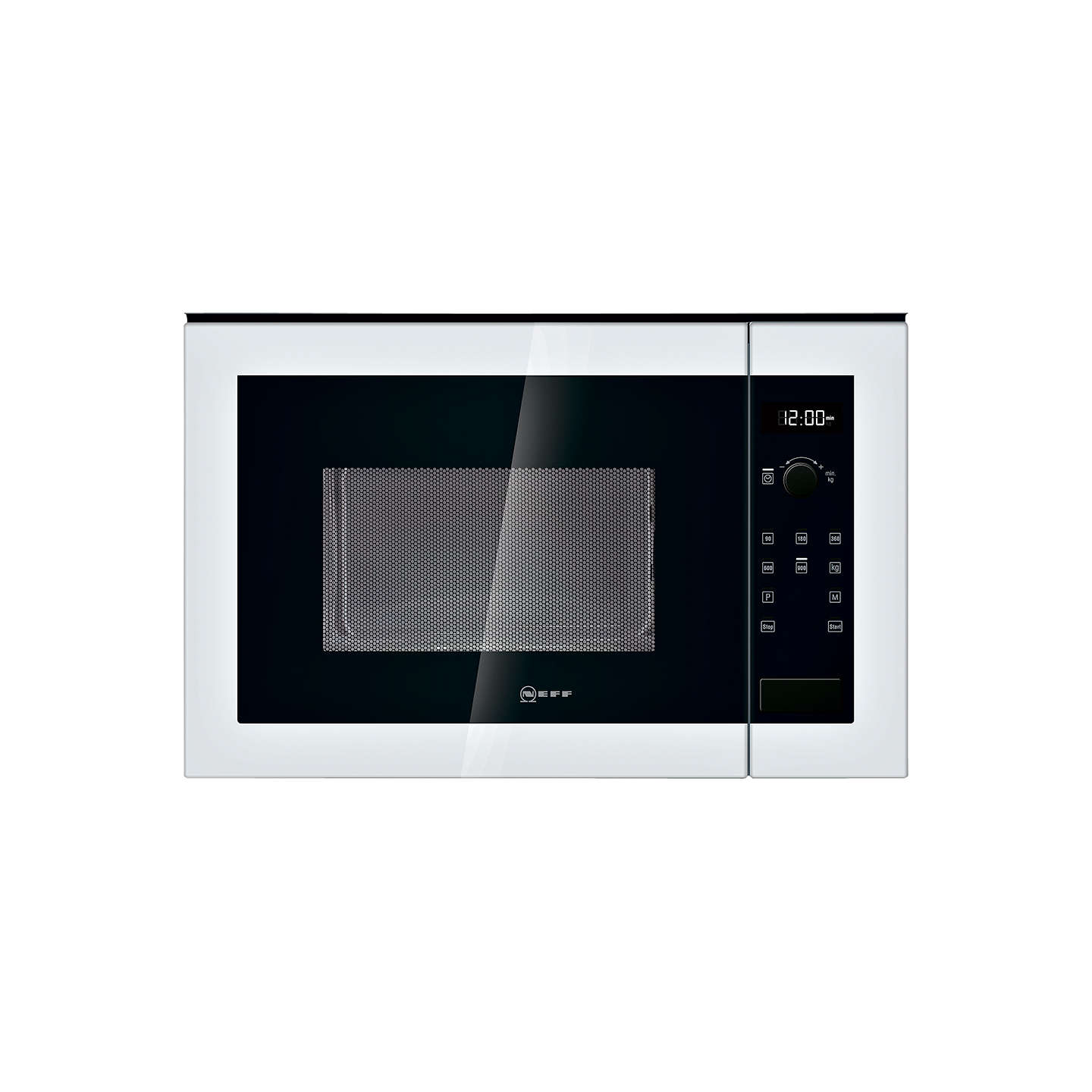 Neff H12we60w0g Built In Microwave Oven White Online At Johnlewis