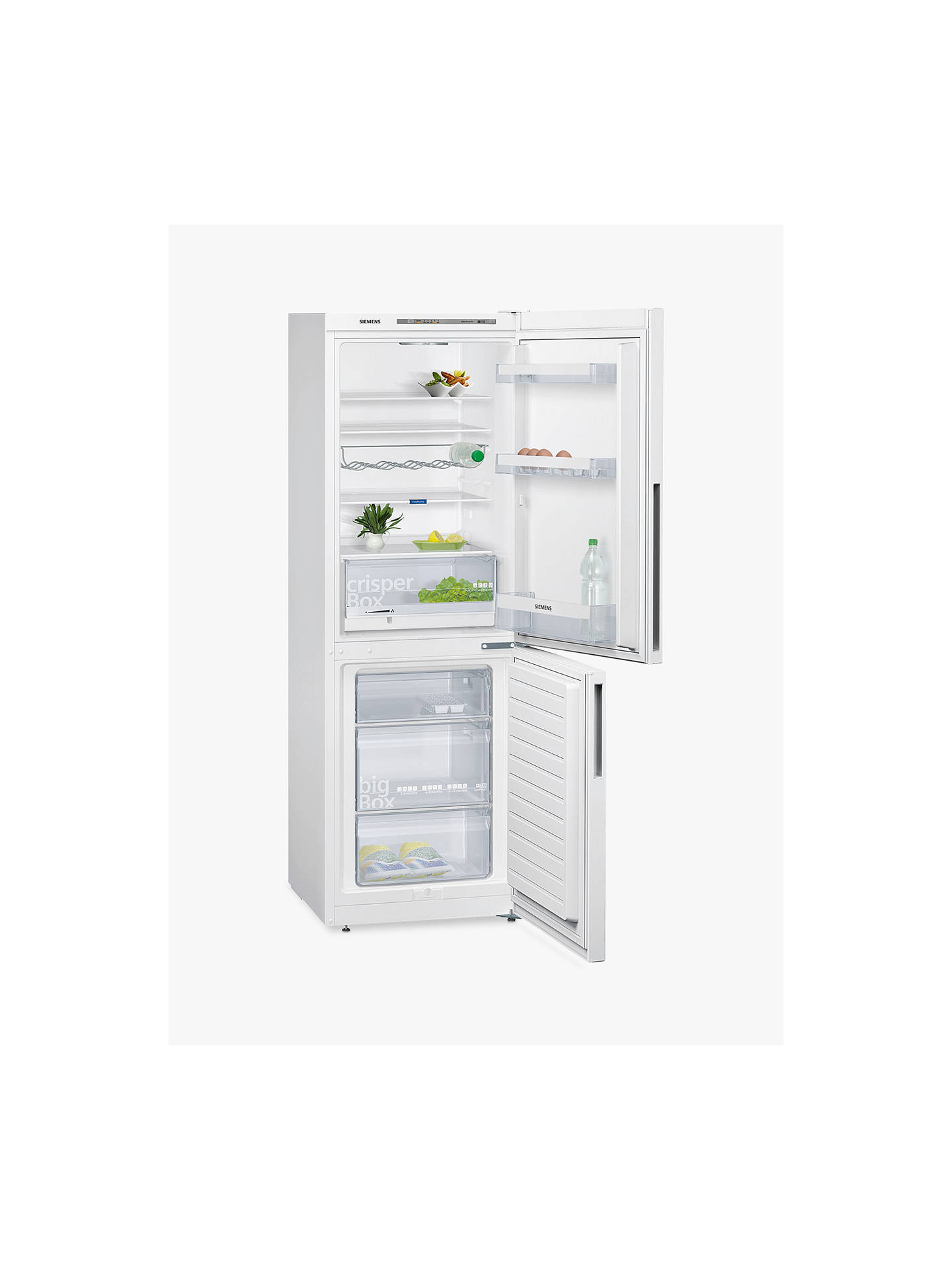 BuySiemens KG33VVW31G Fridge Freezer, A++ Energy Rating, 60cm Wide, White Online at johnlewis.com