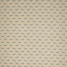 Buy Emily Bond Dachshund PVC Tablecloth Fabric, Blue Online at johnlewis.com