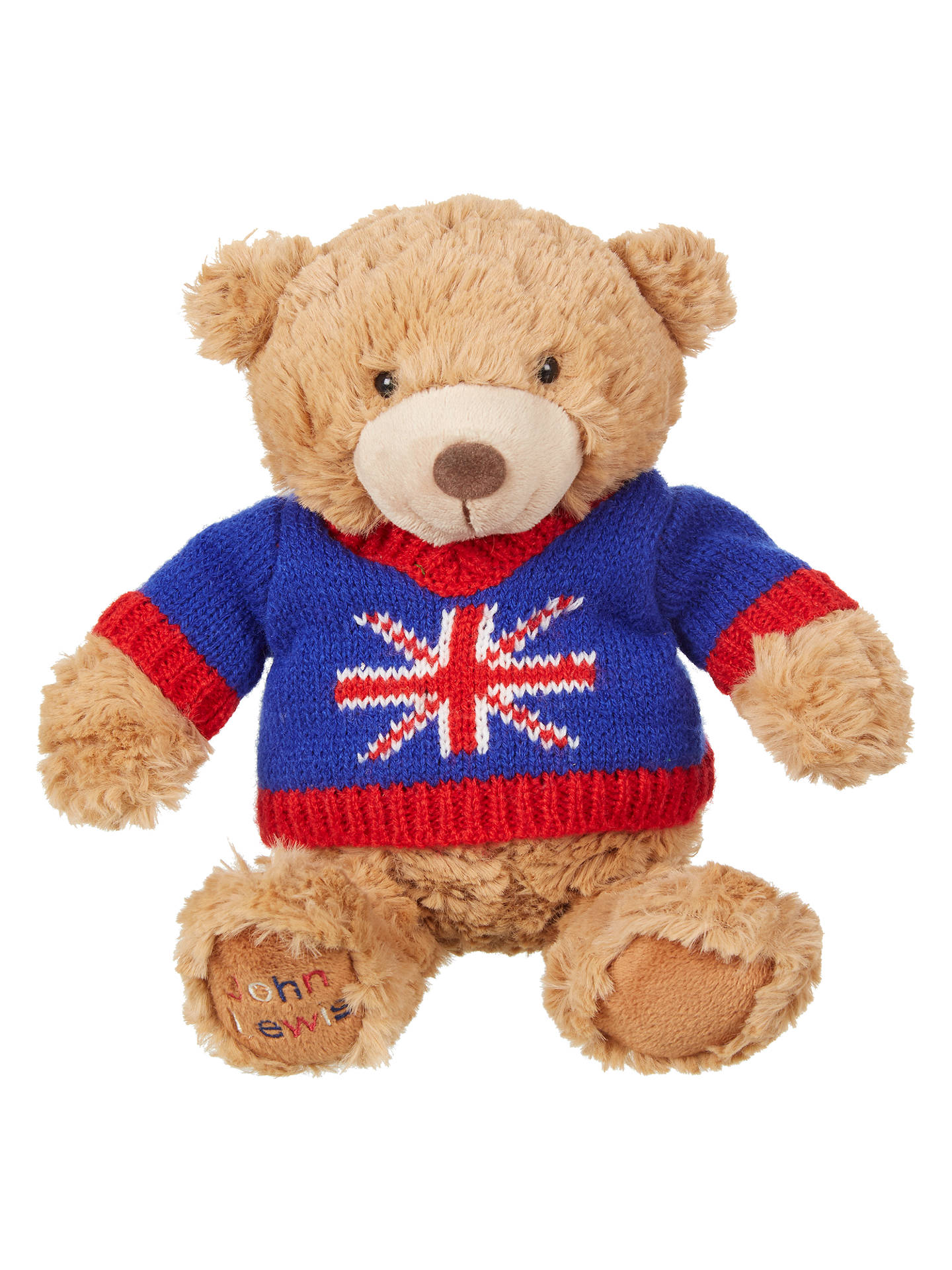 BuyJohn Lewis & Partners Tourism Jumper Lewis Teddy Bear Soft Toy Online at johnlewis.com