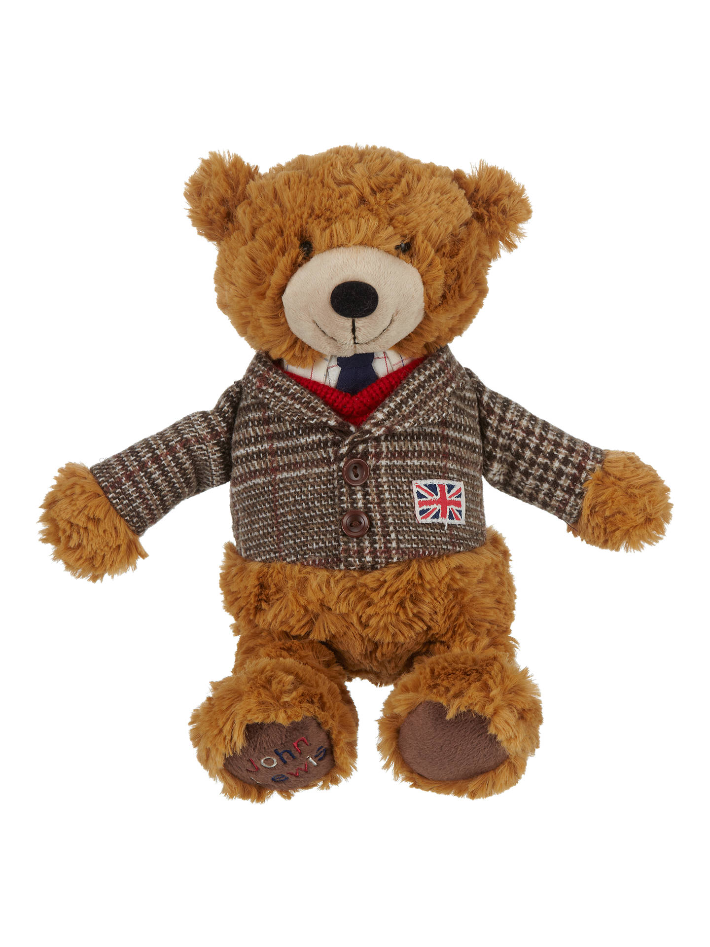 Buy John Lewis & Partners Tourism Country Lewis Teddy Bear Soft Toy Online at johnlewis.com