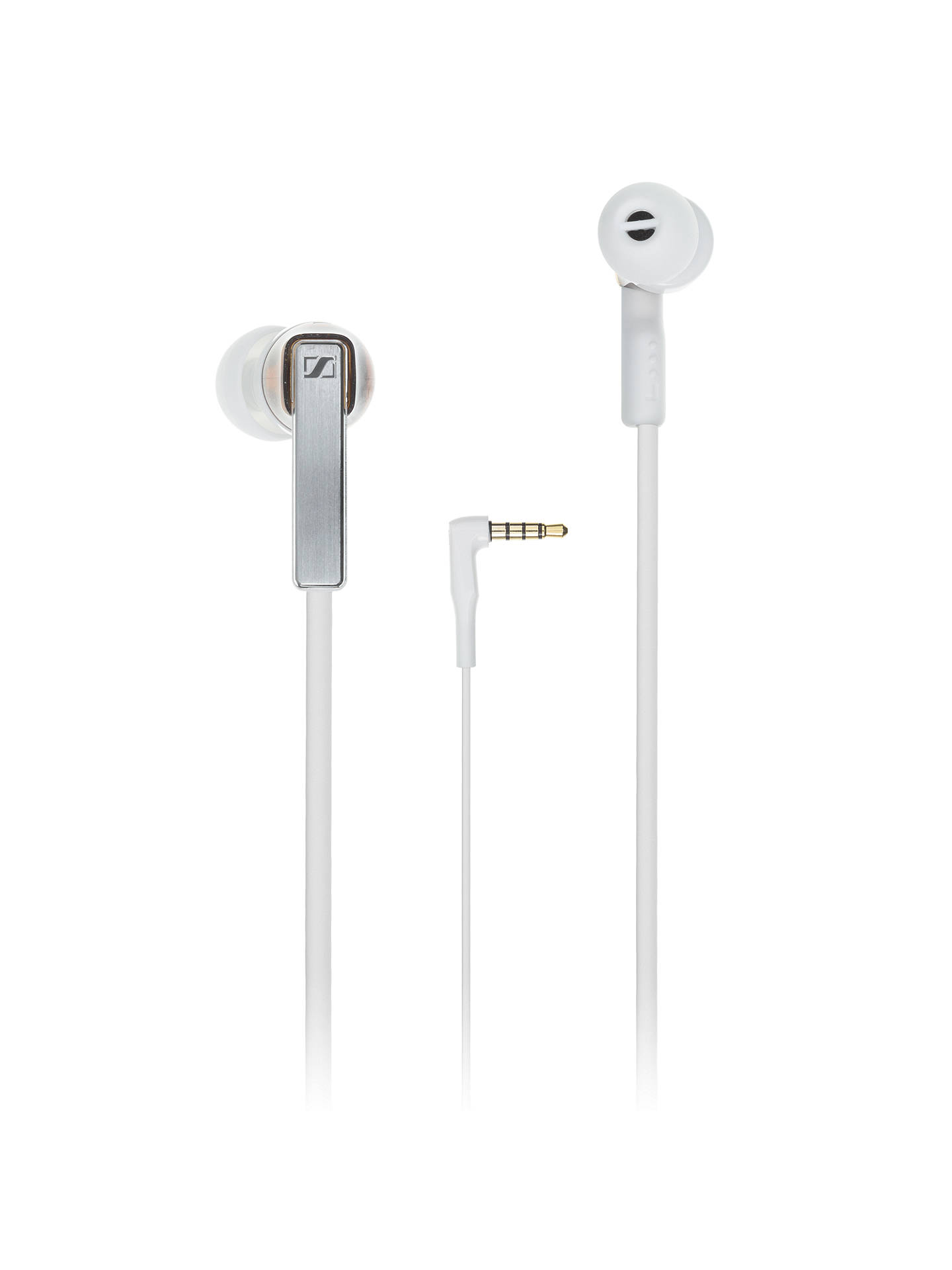 BuySennheiser CX 5.00 G In-Ear Headphones with Mic/Remote, White Online at johnlewis.com