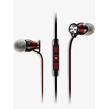 Buy Sennheiser MOMENTUM G In-Ear Headphones with In-Line Mic for Android, Black Online at johnlewis.com