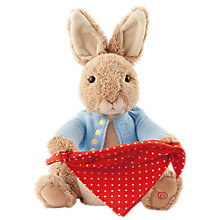 Buy Beatrix Potter Peter Rabbit Peek-A-Boo Game Soft Toy Online at johnlewis.com