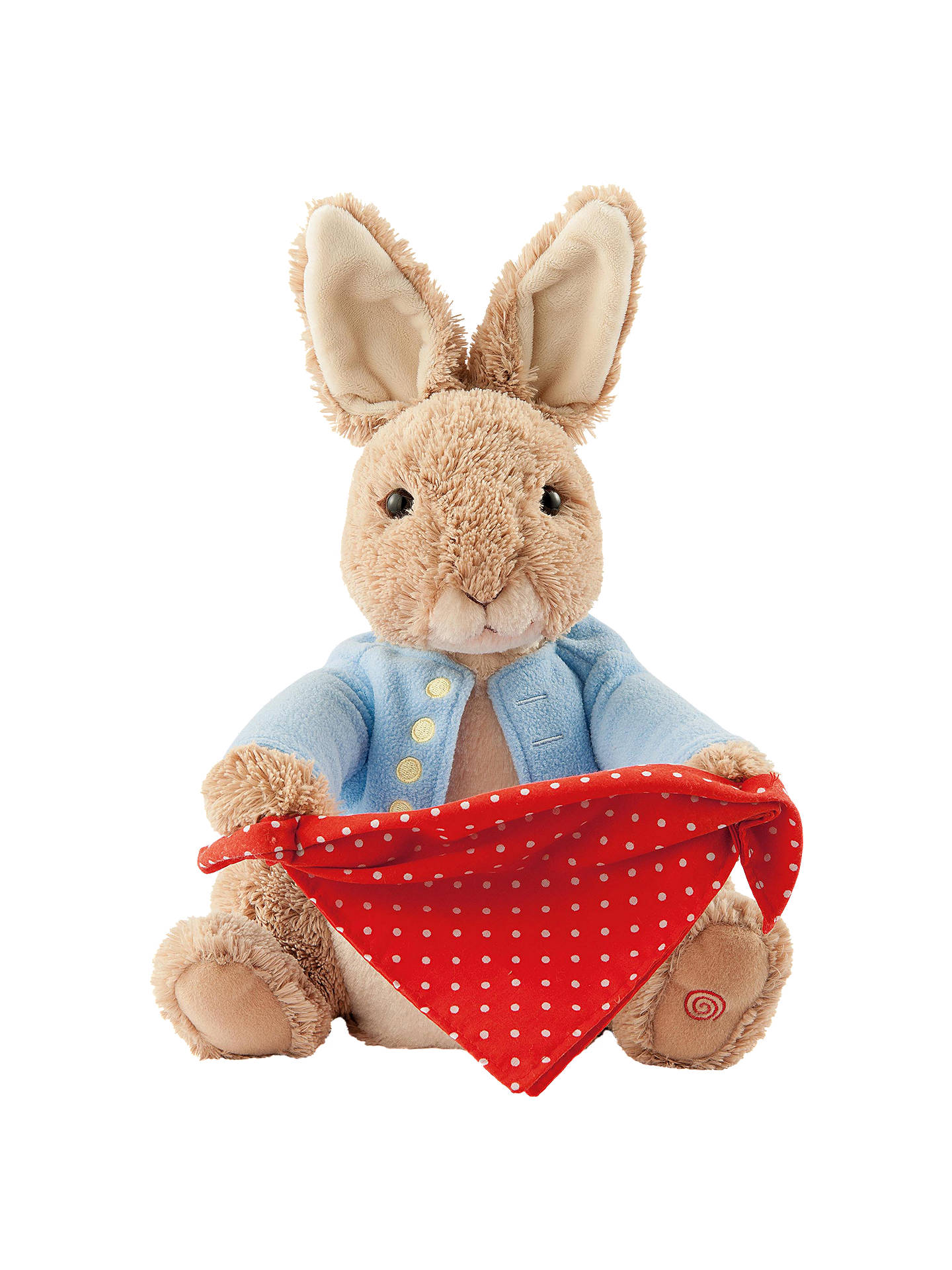 BuyBeatrix Potter Peter Rabbit Peek-A-Boo Game Soft Toy Online at johnlewis.com