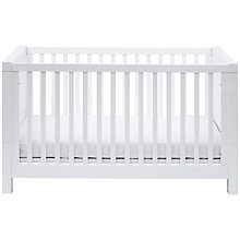 Buy Silver Cross Notting Hill Cotbed, White Online at johnlewis.com