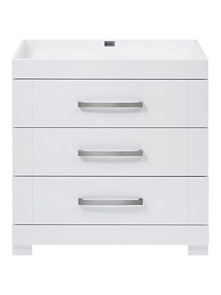 Silver Cross Notting Hill Dresser, White