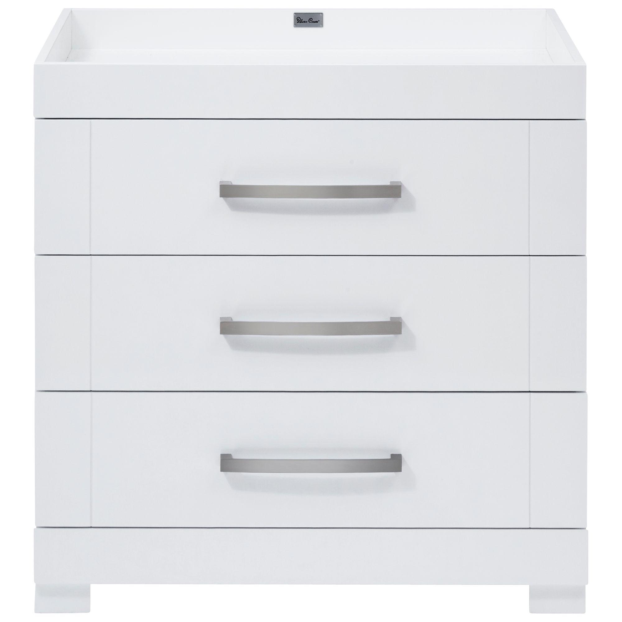 Silver Cross Silver Cross Notting Hill Dresser, Gloss White