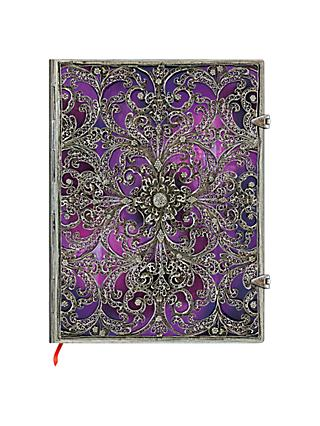 Paperblanks Filigree Aubergine Ultra Journal