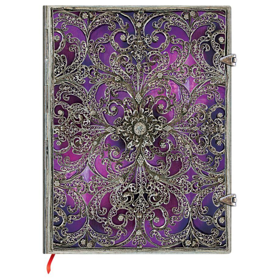 Paperblanks Paperblanks Filigree Aubergine Ultra Journal