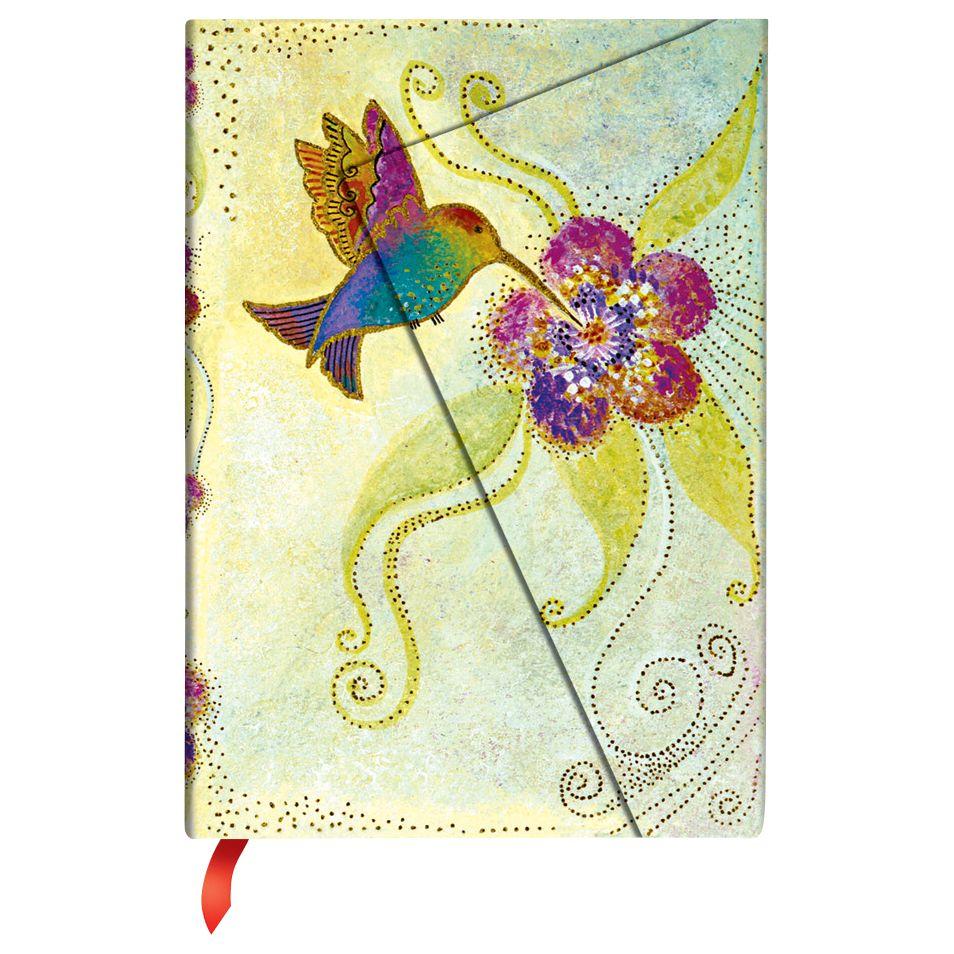 Paperblanks Paperblanks Hummingbird Wrap Midi Journal